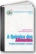 Capa do livro A qu�mica dos alimentos: produtos fermentados e corantes
