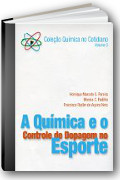 Capa do livro A química e o controle de dopagem no esporte