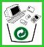 ícone lixo eletronico