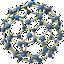 Imagem molécula de carbomo 60.