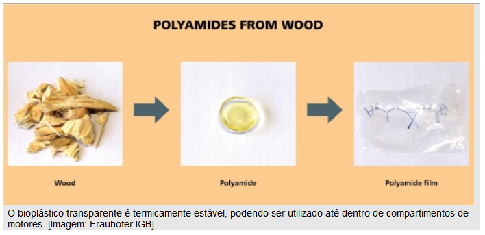 imagem que representa as fases do bioplástico
