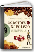 Capa do livro Os Botões de Napoleão: As 17 moĺéculas que mudaram a história