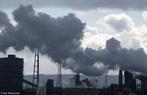 Emissão de dióxido de carbono