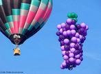 O esporte do balonismo utiliza ar quente obtido pela queima de um combust�vel, geralmente g�s propano. <br/><br/> Palavras-chave: Solu��es. Gases. Densidade. Elementos qu�micos.