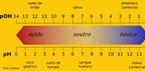Escala que mostra o pH e o pOH. <br/><br/> Palavras-chave: Escala de pH. pH. Varia��o de pH. Equil�brio qu�mico.