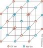 Estrutura do arranjo at�mico dos cristais de cloreto de s�dio que se organizar no formato c�bico. <br/><br/> Palavras-chave: Estrutura molecular. Arranjo cristalino. Cloreto de s�dio.