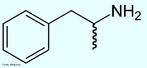 Anfetaminas são substâncias simpatomiméticas que têm a estrutura química básica da beta-fenetilamina. Sob esta designação, existem três categorias de drogas sintéticas que diferem entre si do ponto de vista químico. As anfetaminas, propriamente ditas, são a dextroanfetamina e a metanfetamina. Fórmula molecular C9H13N. Massa molar 135,2084. Nomenclatura IUPAC (sistemática)(±)-1-phenylpropan-2-amine. <br/><br/> Palavras-chave: Anfetamina. Medicamentos. Química orgânica. Doping.