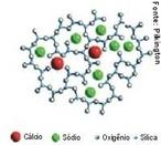 Estrutura molecular do vidro. O vidro é uma substância inorgânica, homogênea e amorfa, obtida através do resfriamento de uma massa líquida a base de sílica. <br/><br/> Palavras-chave: Vidro. Química do vidro. Substância. Sílica.