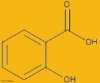 Representação da molécula de ácido salicílico. O ácido salicílico é um Beta-Hidroxiácido (ß-Hidroxiácido) com propriedades queratolíticas (esfoliantes) e antimicrobianas, o que significa que afina a camada espessada da pele e age evitando a contaminação por bactérias e fungos oportunistas. É um ácido utilizado no tratamento de pele hiperqueratótica, isto é, super espessada, em condições de descamação como: caspa, dermatite seborreica, ictiose, psoríase e acne, problemas que atingem facilmente a ala masculina. É caracterizado ainda por ser um regularizador da oleosidade e também um anti-inflamatório potencial. A grande vantagem deste ácido é que apresenta um bom poder esfoliativo e também uma ação hidratante, cuja característica principal é a capacidade de penetração nos poros ajudando na remoção da camada queratinizada com uma ação irritante muito menor que os outros ingredientes. <br/><br/> Palavras-chave: Ácido salicílico. Funções orgânicas. Molécula.