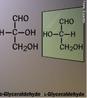Representação da molécula de gliceraldeído com sua imagem especular. A isomeria só é perceptível por meio da análise da fórmula estrutural espacial. A isomeria espacial é dividida em duas partes: a isomeria geométrica (cis-trans ou Z-E) e a isomeria óptica. <br/><br/> Palavras-chave: Isomeria. Isômeros ópticos. Imagem especular. Gliceraldeído.