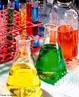 Ilustra��o de vidrarias utilizadas em laborat�rio para an�lise laboratorial, sendo elas:  Erlenmeyer, tubo de ensaio an�lise laboratorial. <br/><br/> Palavras-chave: Vidraria. Material de laborat�rio. Laborat�rio. An�lise qu�mica.